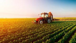Trator em meio a uma lavoura - Nota Fiscal Produtor Rural RO