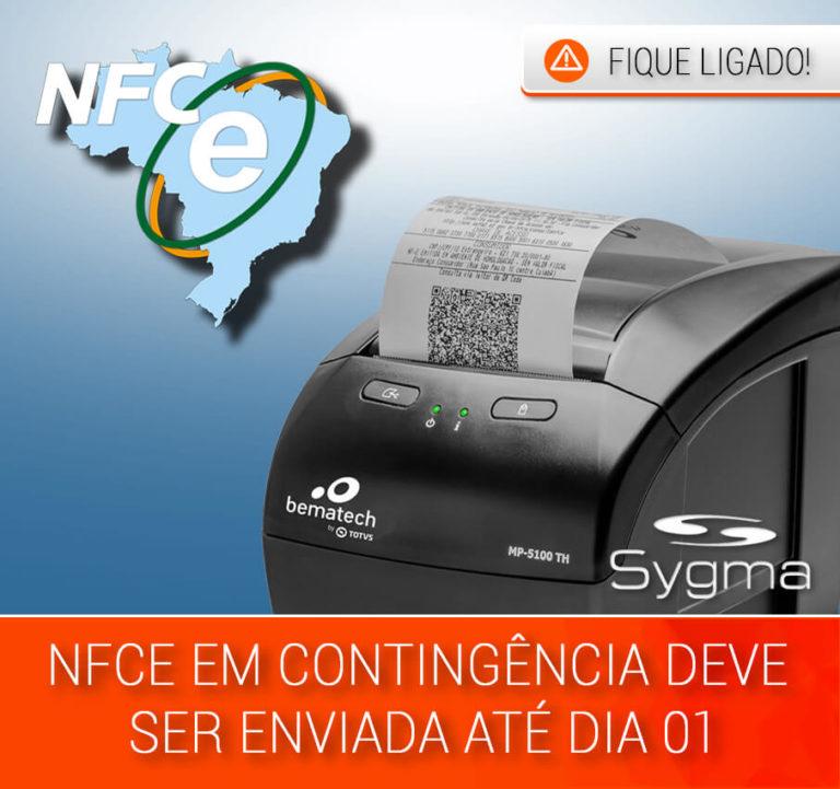 Prazo para enviar NFCe em Contingência em Minas Gerais (MG)